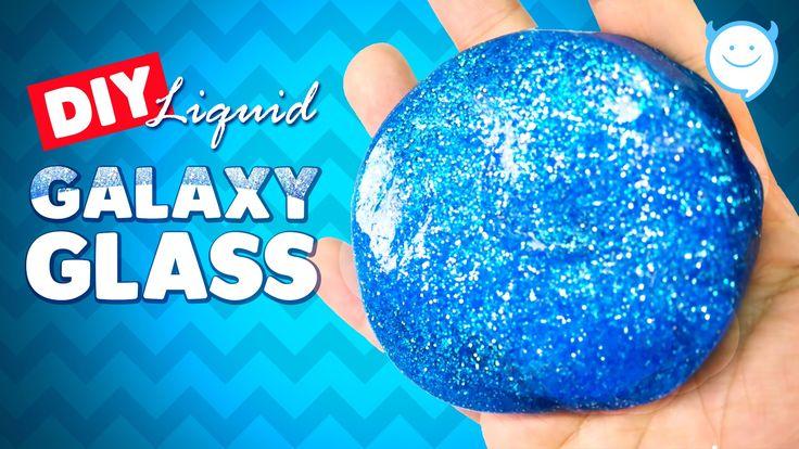 DIY Galaxy LIQUID GLASS !! How To Make Liquid Glass