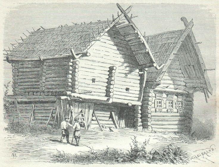 a relatively wealthy Ostland farmer's house.