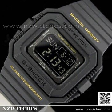 BUY Casio G-Shock World Time 200M Sport Watch DW-D5500-1B, DWD5500 - Buy Watches Online | CASIO NZ Watches