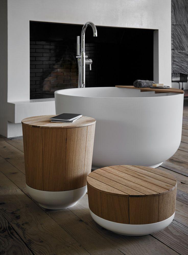 Freestanding round bathtub - Inbani