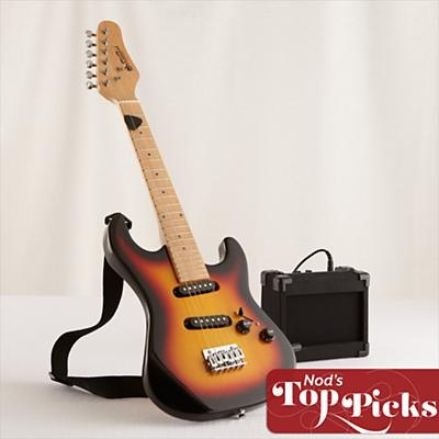 Kids Musical Instruments: Kids Electric Guitar with Amp in All New