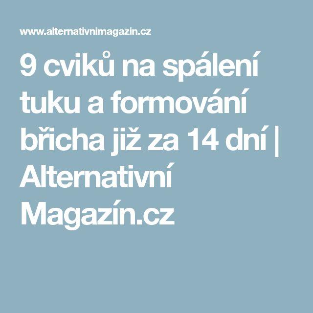 9 cviků na spálení tuku a formování břicha již za 14 dní | Alternativní Magazín.cz
