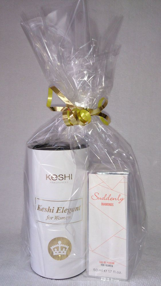 Keshi Elegant 100ml Suddenly Diamonds 50ml Eu de Parfum Package for Woman