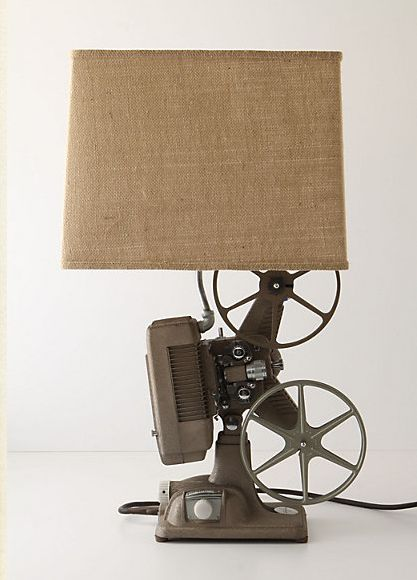 i've got to make this anthropologie projector lamp - using this diy from i am momma hear me roar