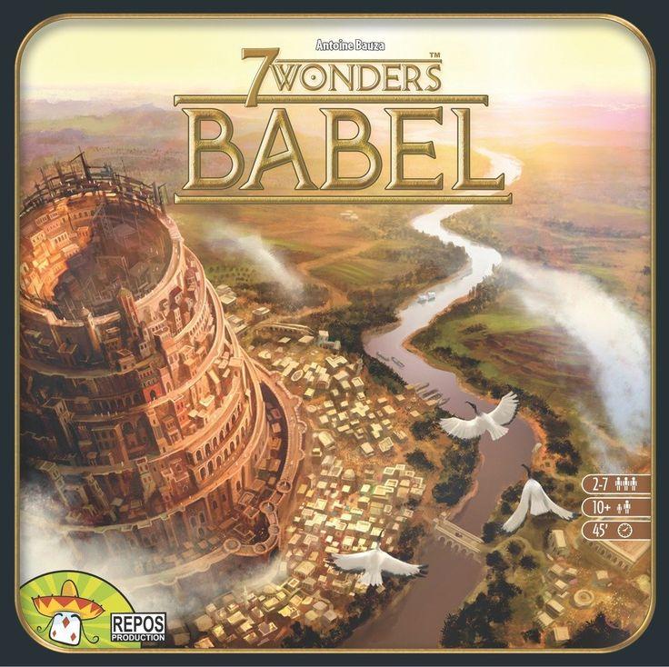 7 Wonders: Babel: Amazon.fr: Jeux et Jouets