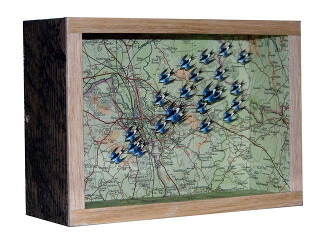 High Over Oxford by John Dilnot http://www.sandersofoxford.com/images/stock/32819.jpg
