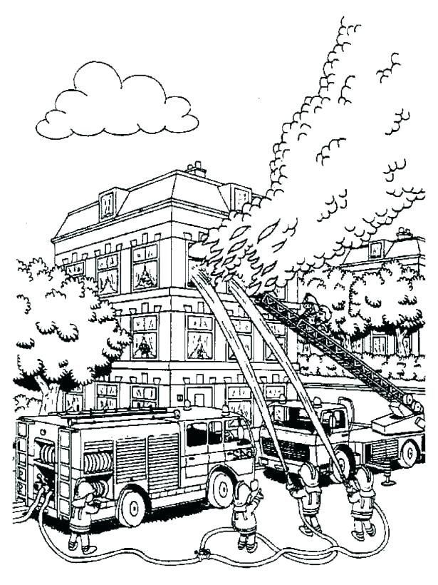 Fire Department Coloring Pages Fire Coloring Pages Best Coloring Pages For Kids Coloring Pages For Kids Coloring Pages Truck Coloring Pages