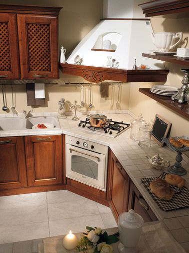 Tradition and functionality toghether in the #Gradara kitchen! http://www.spar.it/sp/it/arredamento/cucine-gra-5.3sp?cts=cucine_classiche_gradara