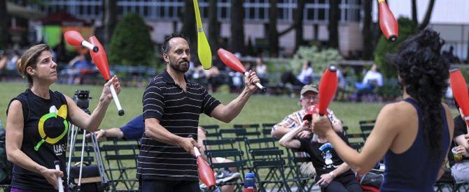 New York'ta Jonglör Festivali - TRT Türk Haberler