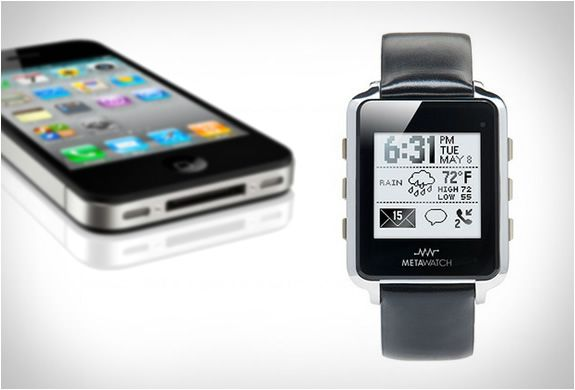 META Watch | Bluetooth Smartwatch - iPhone Compatible