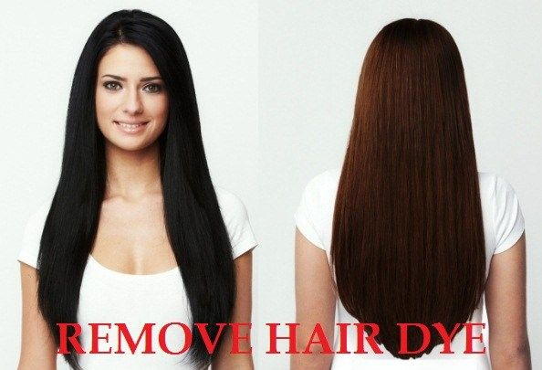 How To Remove Hair Dye Dyed Hair Hair Dye Removal Black Hair Dye