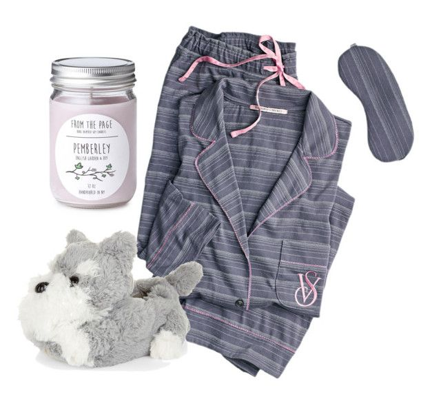 """All I want to do is sleeping"" by thestrawberrytales on Polyvore featuring Victoria's Secret"