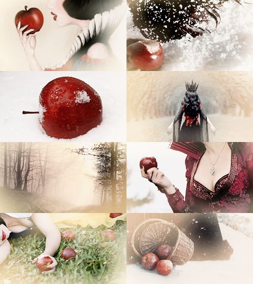 "FAIRY TALE MEME Magical Objects/Creatures → Poisoned Apple ""Snow White"""