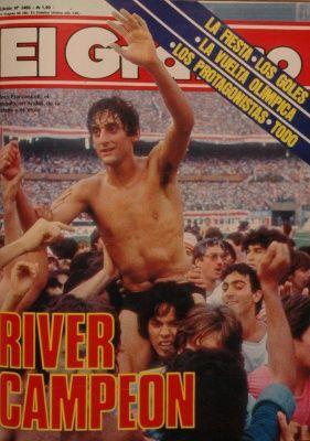 1986 Enzo Francescoli, River Campeon