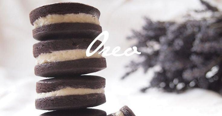 Čokoládové sušenky à la Oreo