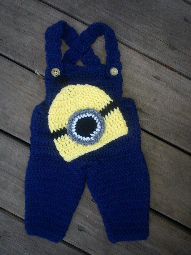 Crochet Baby Minion Things I Make Pinterest Crochet ...