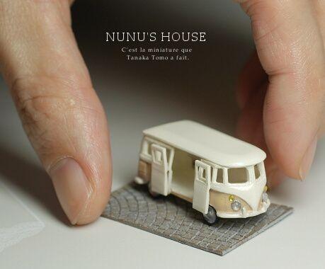 Nunu's house // Miniature VW bus