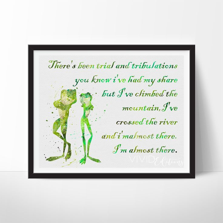 Princess and the Frog Quote