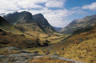 La vallée de Glencoe, en Ecosse