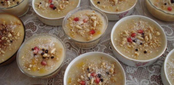 Zoet Turks dessert