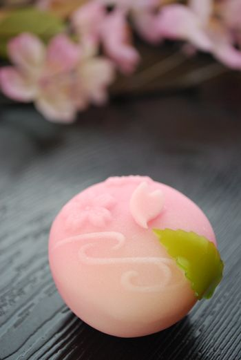 """Sakura Tsutsumi"" on the tea ceremony Namagashi"