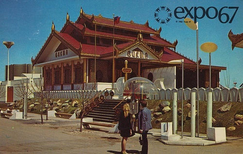 The Pavilion of Burma - Expo '67 by What Makes The Pie Shops Tick?, via Flickr