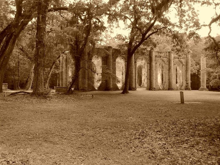 Sheldon Church Ruins near Beaufort, SC