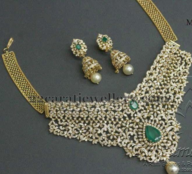Jewellery Designs: Tremendous Tibarumal Choker