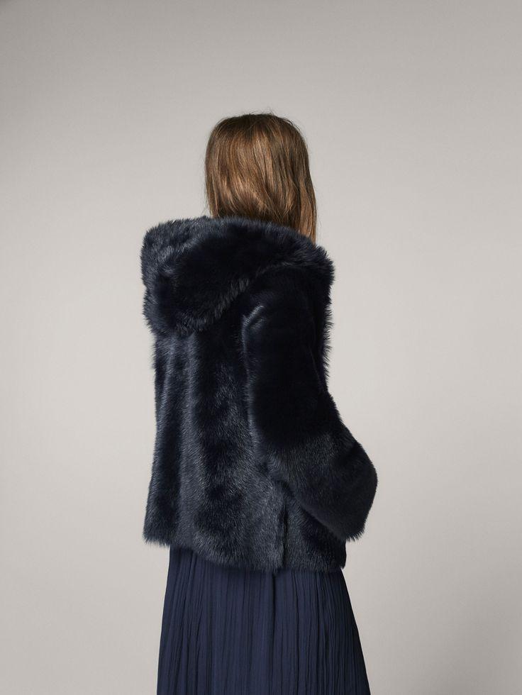 Chaqueta pelo reversible -Mujer - Massimo Dutti España