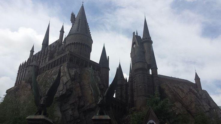Hogwarts Castle, Universal Studios, Florida, US - 2014