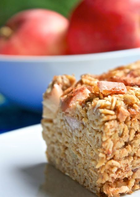 healthy kitchen apple cinnamon baked oatmeal vegan more apple cinnamon ...