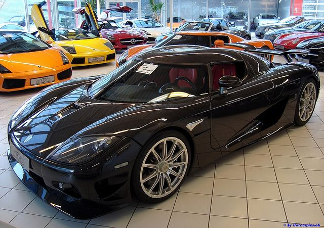 Auto Salon Singen Exotic Car Showroom by 1GrandPooBah, via Flickr