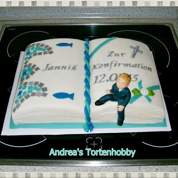 Cinfirmation cake book , Konfirmationstorte Buch