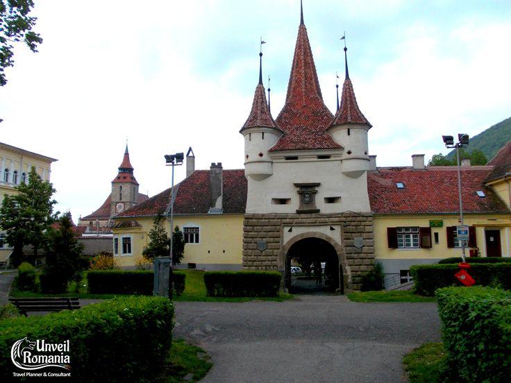 Ecaterina Gate - old citadel of Brasov #Romania #Transylvania #Brasov #medieval #visit #guidedtour