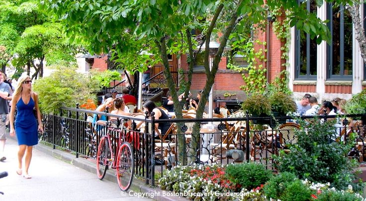 Outdoor Dining in Back Bay | Boston Patio Restaurants