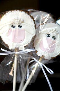 Il Laboratorio delle Torte: Biscotti decorati con lo stecco