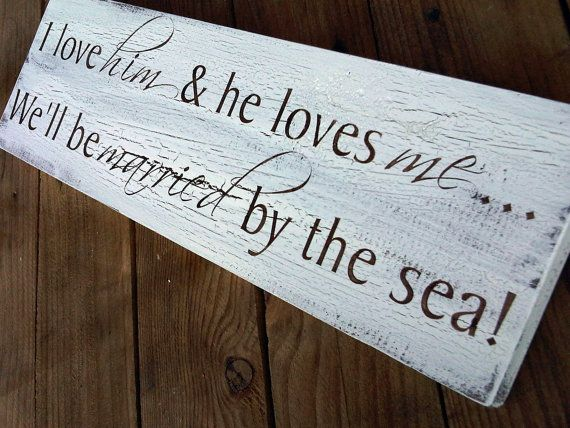 Beach Seaside Destination Wedding Signs Save The by TristanAndJuJu, $40.00