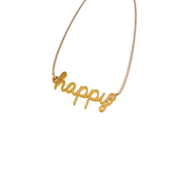 Happy Necklace - Zazzy