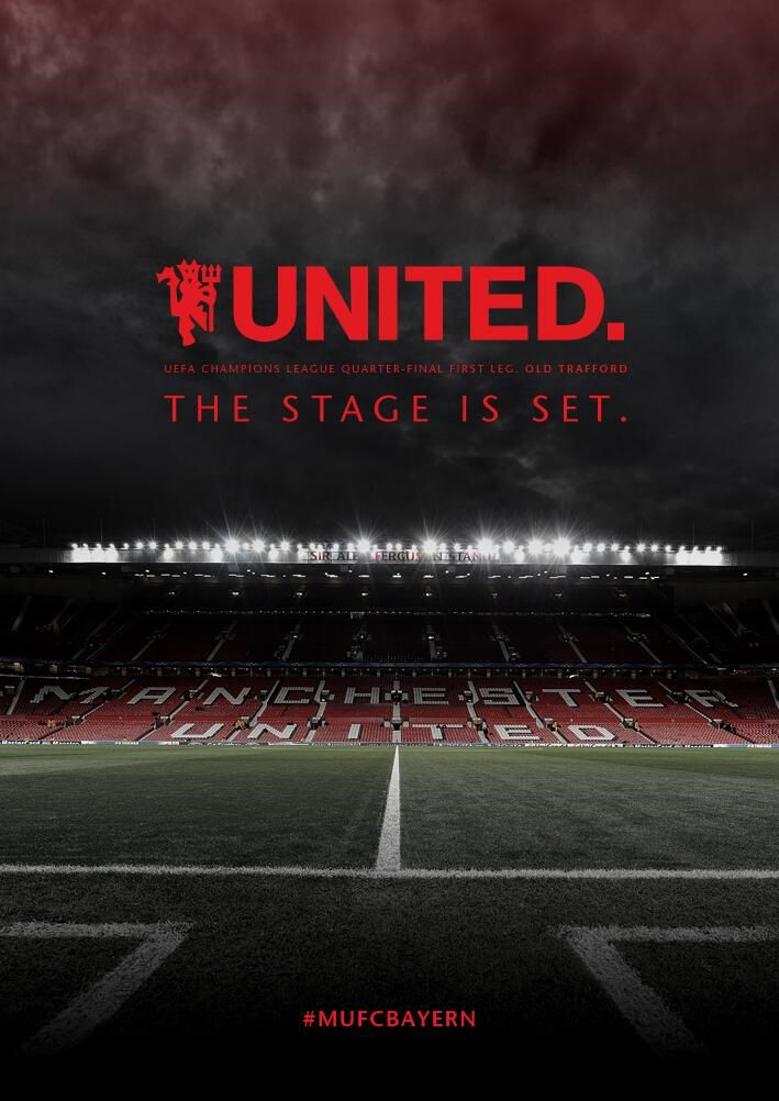 Twitter / ManUtd: The stage is set. Let's do ...