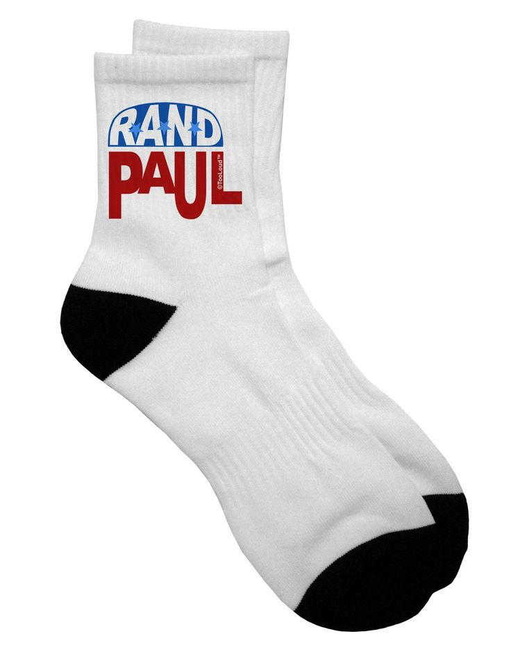 Rand Paul Republican Symbol Adult Short Socks