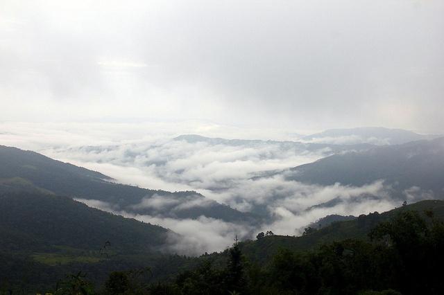 Phongsali, Laos. TREKKING