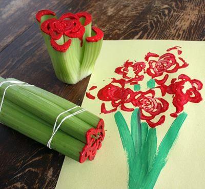 celery roses!