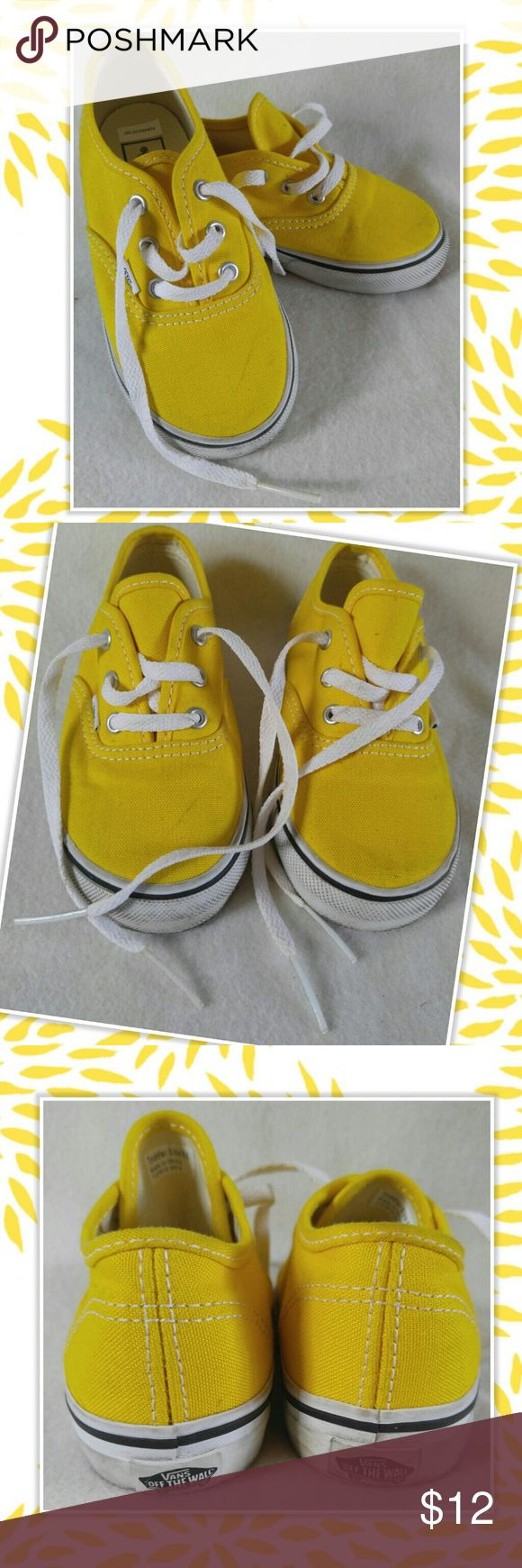 VANS Toddler Sneakers Lace-up Size VANS Toddler Sneakers Lace-up Size 8 Vans Shoes Sneakers