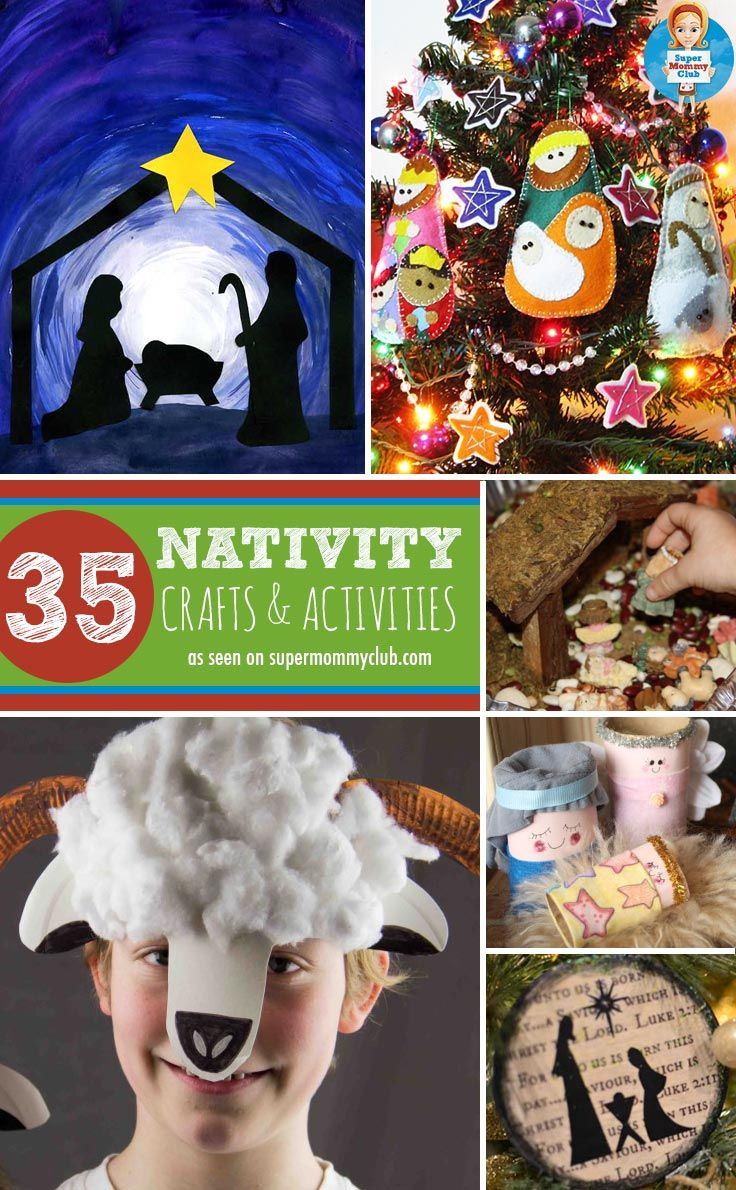 Some fabulous ideas for Nativity crafts for preschoolers to help them understand the true meaning of Christmas