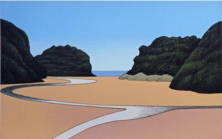Don Binney Mill Creek, Rakiura Parnell Gallery http://www.parnellgallery.co.nz/artworks/artist-don-binney/mill-creek-rakiura/