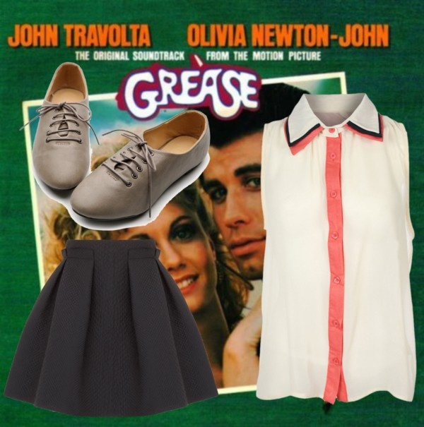 """""""Grease"""" by shannonconnell27 on Polyvore"""