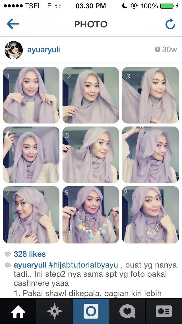 Hijab Tutorial with necklace