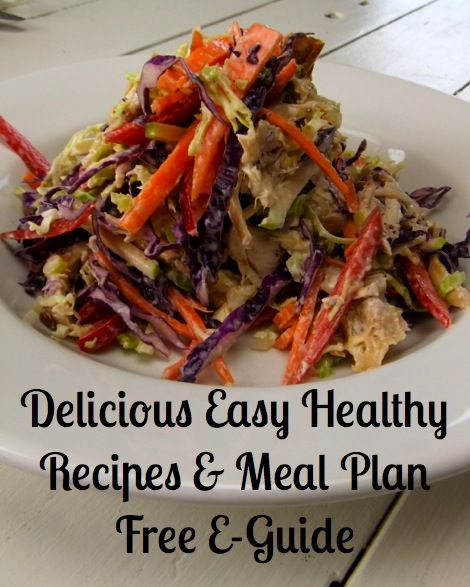 Delicious Easy Healthy Recipes and Meal Plan + Fat Burning Workouts Free E-guide