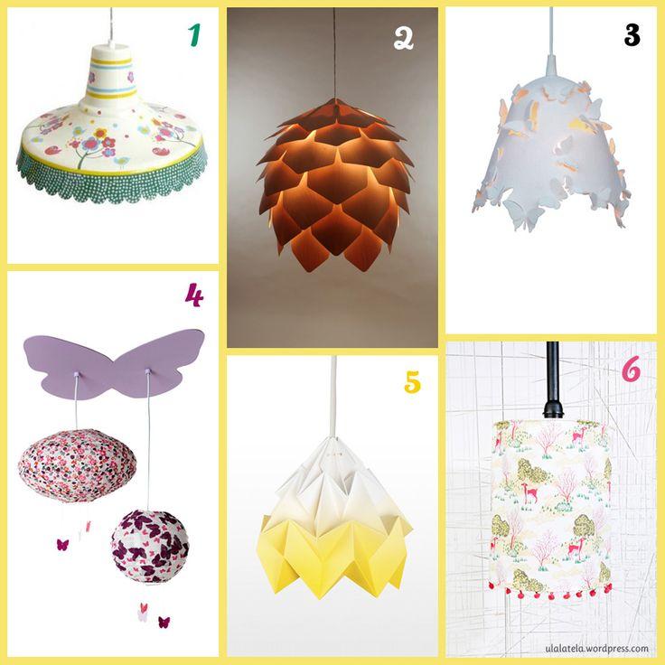 como hacer lampara infantil