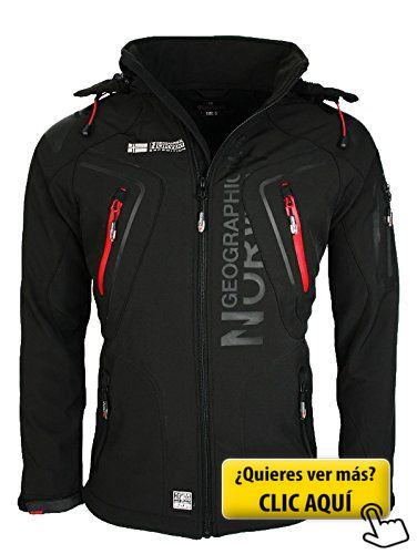 Geographical Norway Hombre Softshell Funciones... #chaqueta